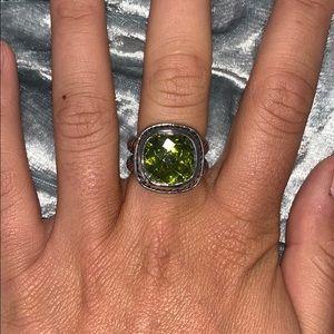 💛Green Stone Ring